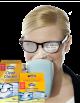 Rengöringsservetter för glasögon från Swirl®