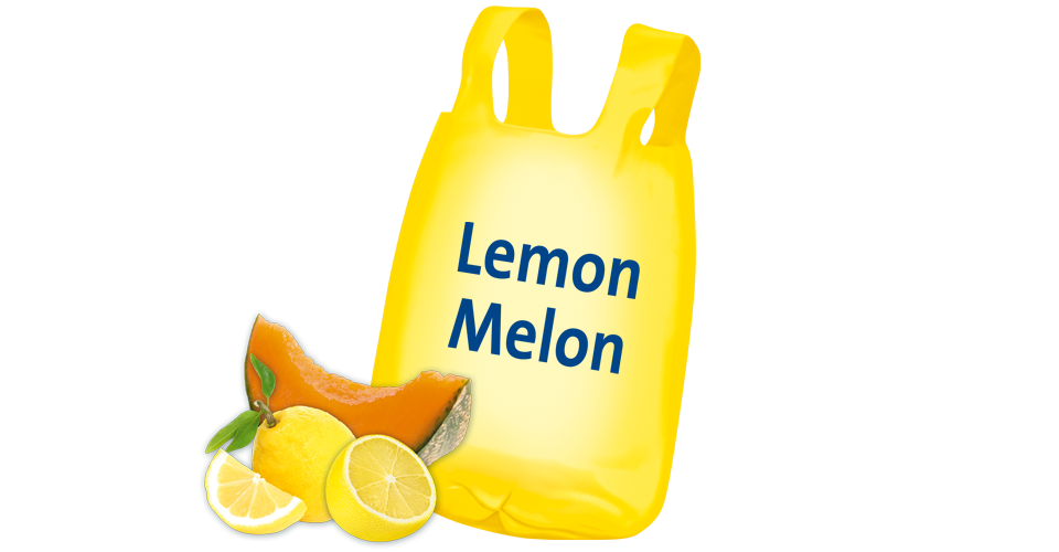 Scented bin liner Lemon-Melon